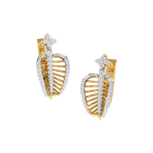 The Ulka Imara Diamond Stud Earrings