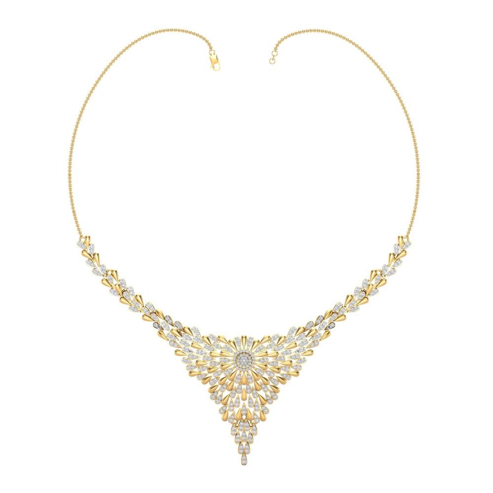Suvarna traditional Diamond Necklace