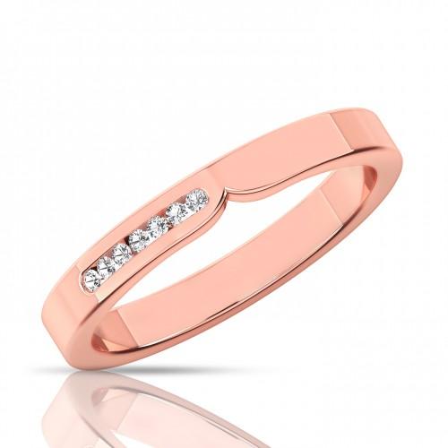 The  Antoniya diamond band ring