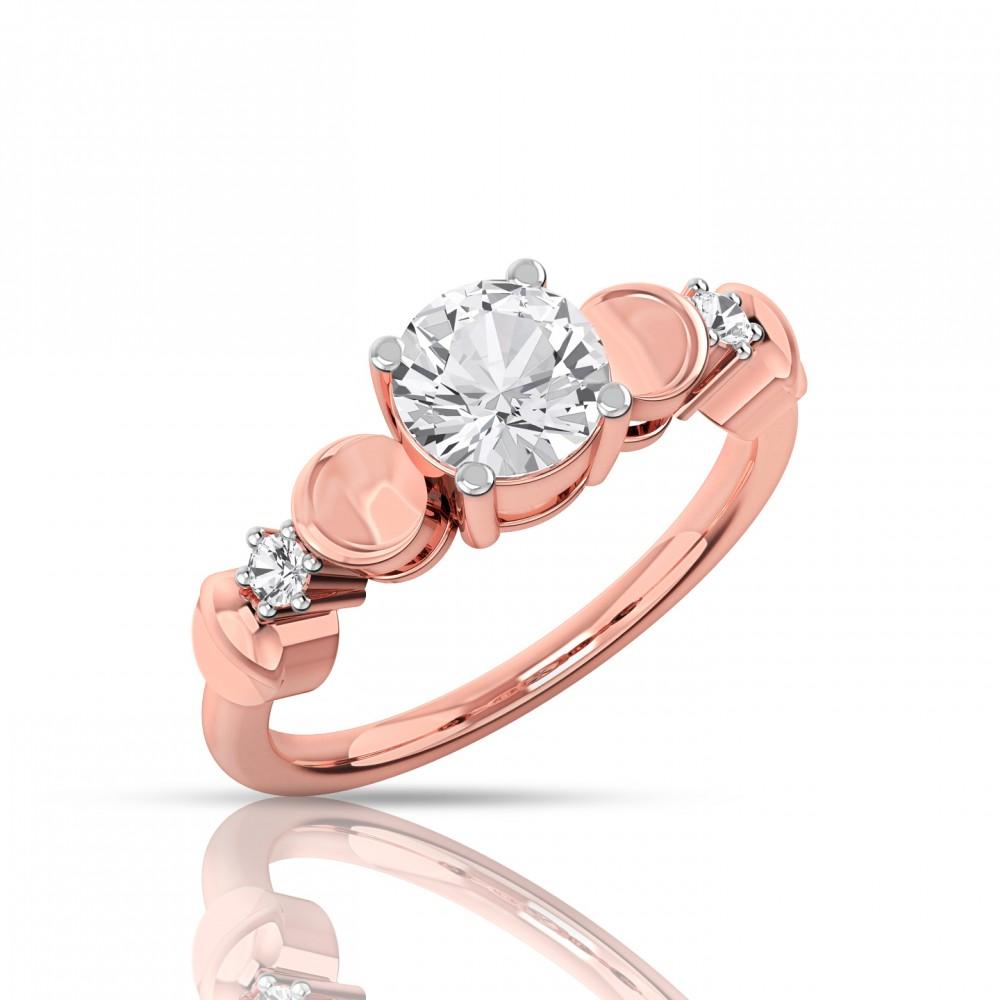 The Mariya Solitaire diamond ring
