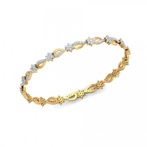 Anandini Diamond Bangle