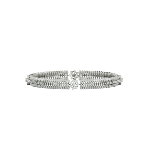 Suri 18K Gold Diamond Bangle