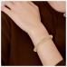 Chetas 18K Gold Diamond bangle