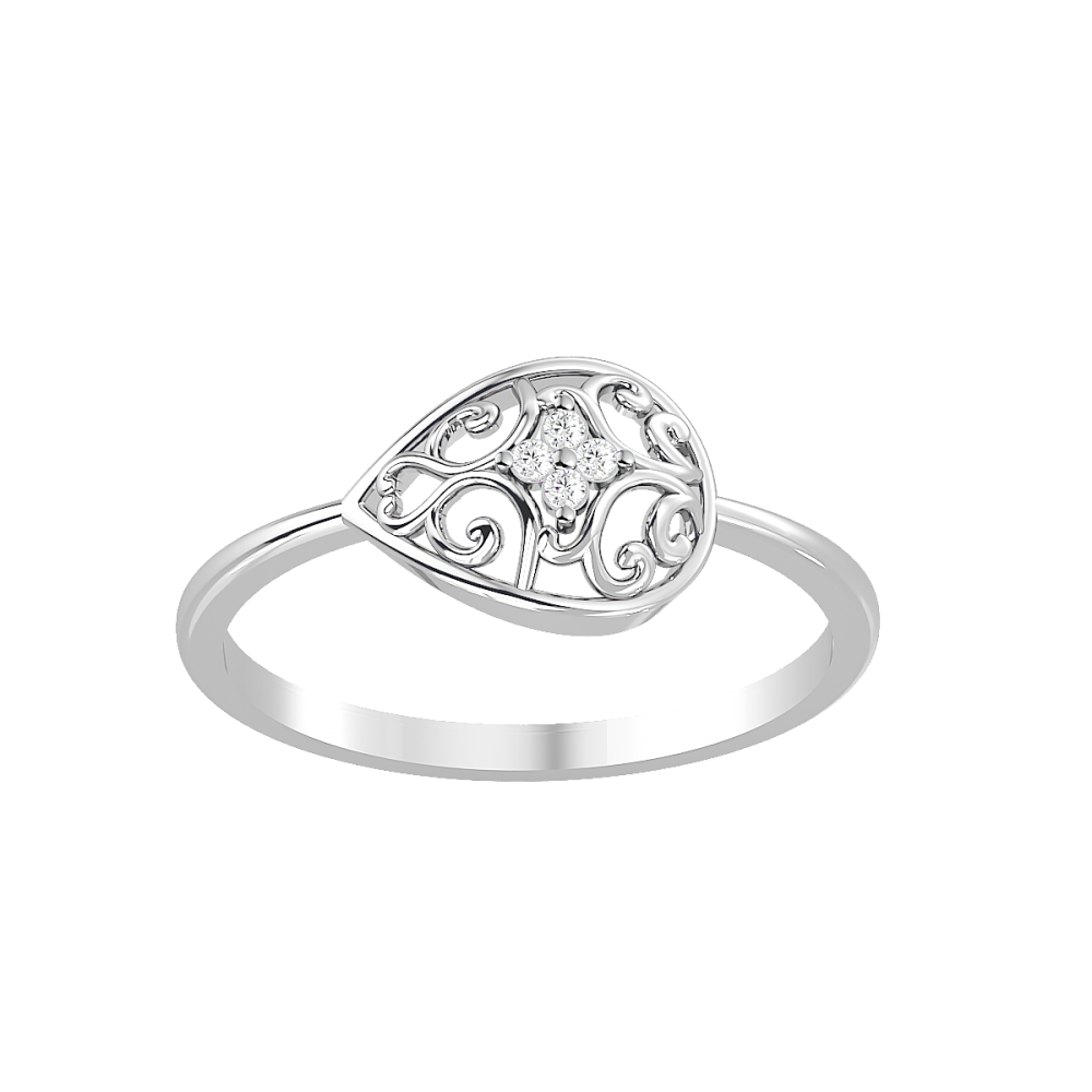 The Helios Natural Diamond Ring