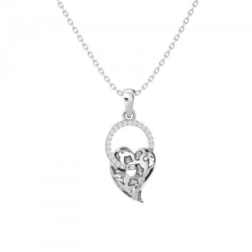 Elegant Heart Design Pendant