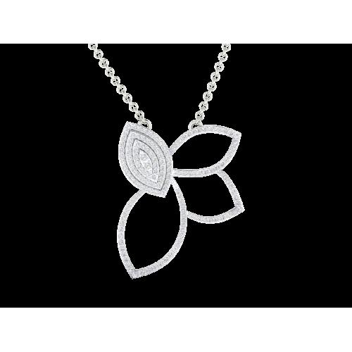 The Ahim Butterfly Diamond Pendant