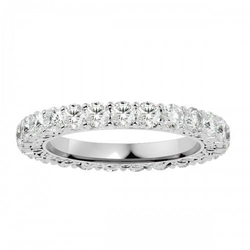 Delicate Natural Diamond Wedding Ring