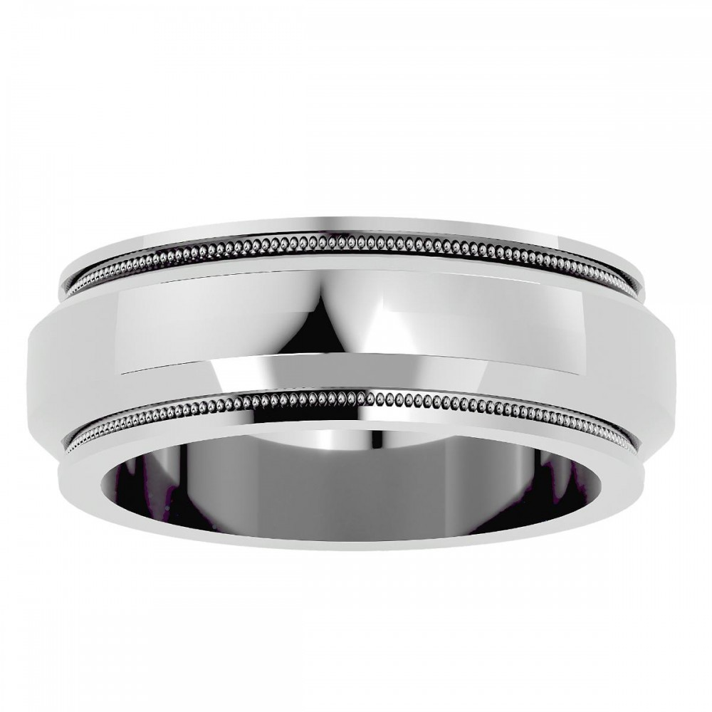 Curious Pure Gold Wedding Band Ring For Women