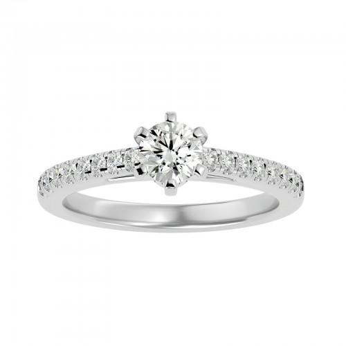 Aaron Women's Diamond Ring