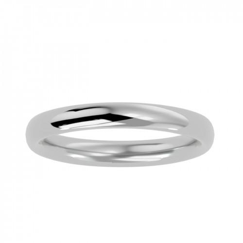 Alexis Plain Gold Bridal Ring