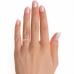 Pretty Princess Cut Natural Diamond Ring