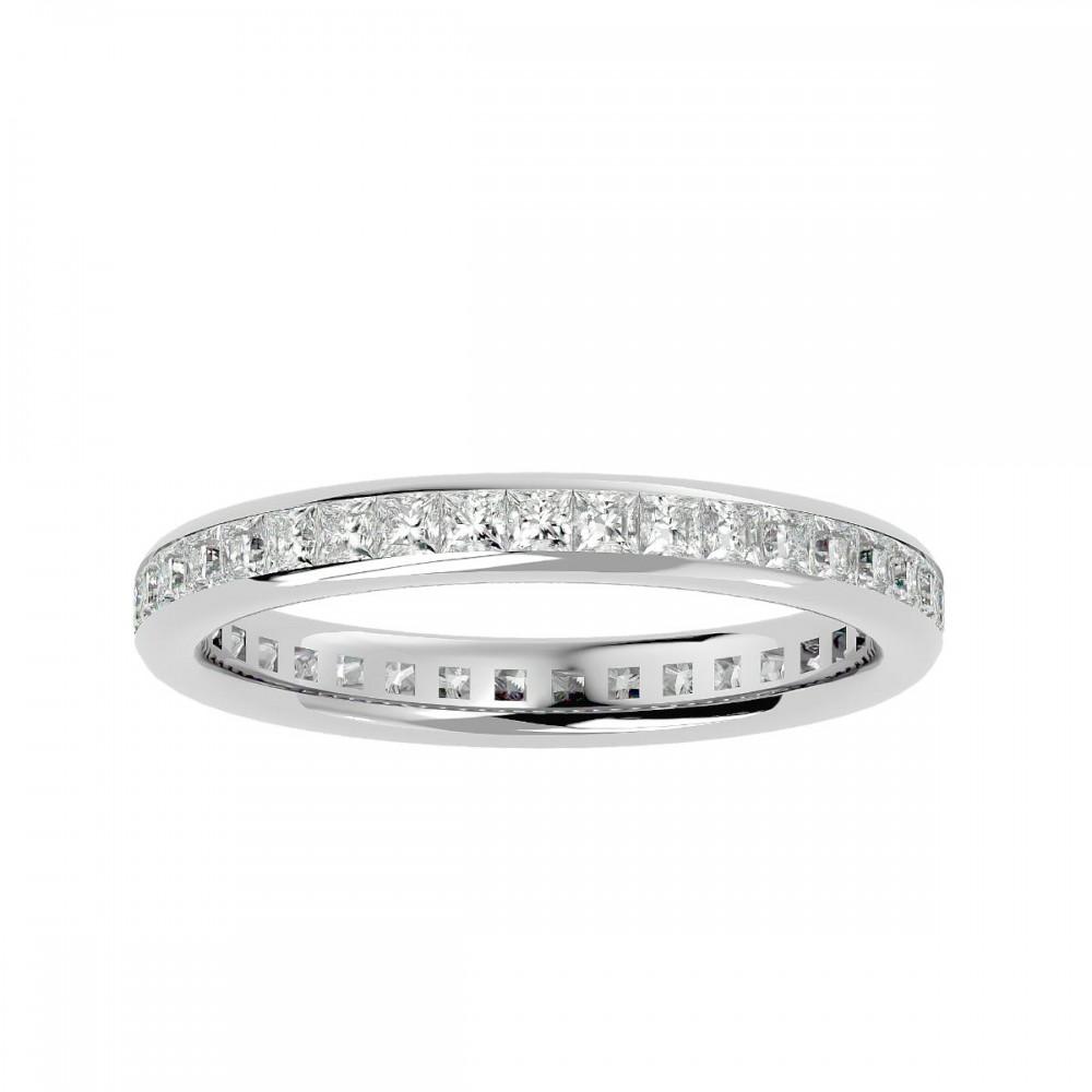 Queen of Diamond Wedding Ring