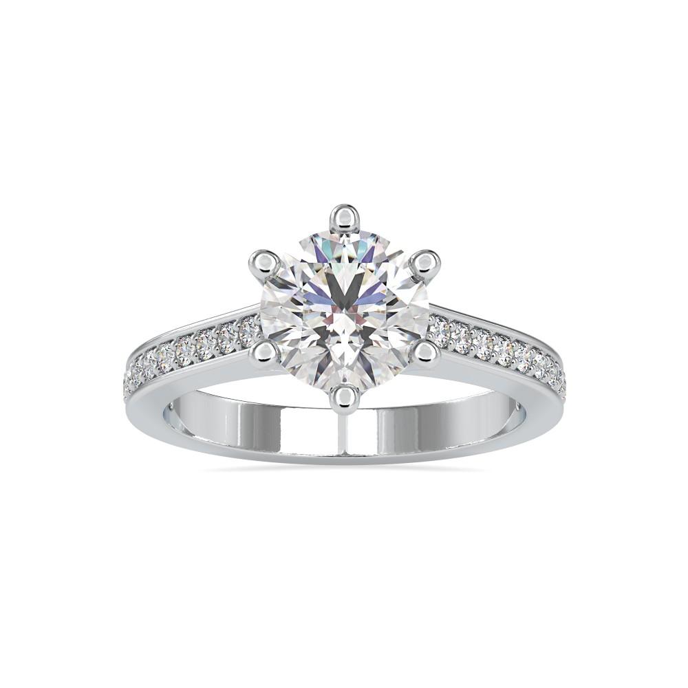 Luxury Clara Solitaire Ring