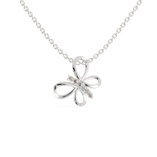 The Amir Star Butterfly Pendant With Chain