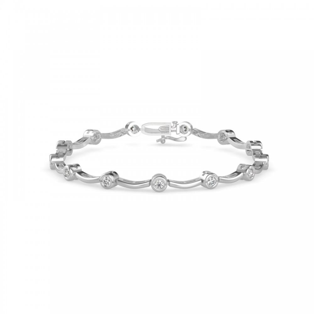 The Telma Natural Diamond Bracelet