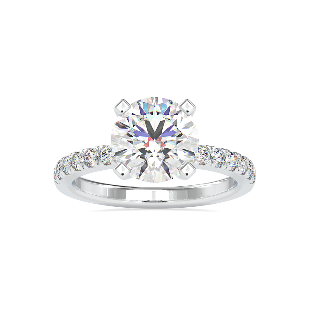 Waverly Prong Set Diamond Solitaire Ring