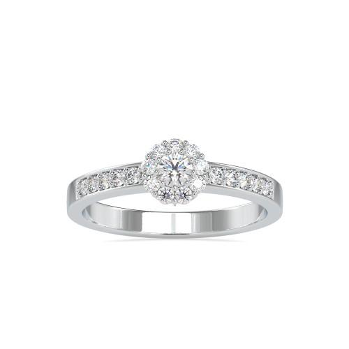 Aashrav Prong Set natural Diamond Engagement Ring