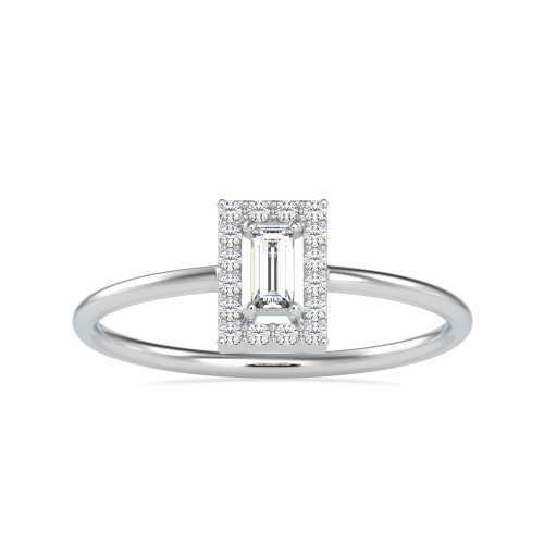 Hitkaray Halo Diamond Light weight Ring