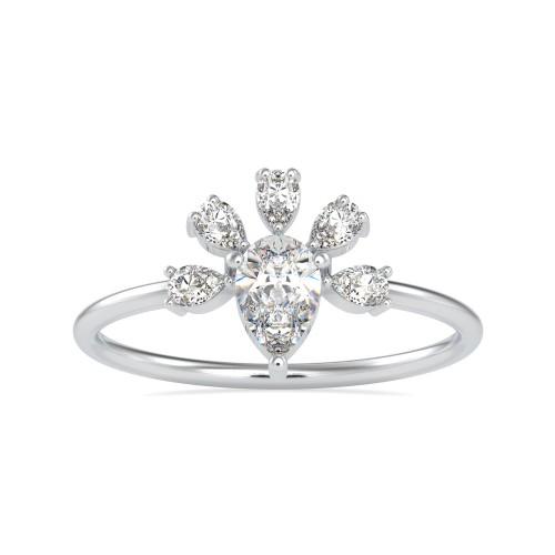 Ananta Solitaire Diamond Ring