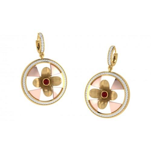 Manya Diamond Earrings