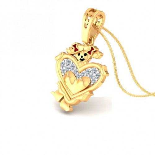 Elani Kids Design Diamond Pendant