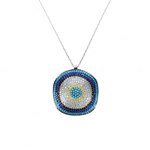 The Adelpha 925 Sterling Silver Necklace